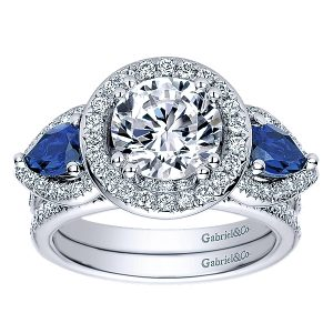 14k-White-Gold-Diamond--And-Sapphire-3-Stones-Engagement-Ring-ER9297W44SA-4